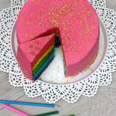 Veja esta receita de Bolo arco iris. Esta e outras receitas aqui, no site Nestlé Cozinhar.