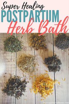 Post Partum Herbal Sitz Bath Recipe Just Create A Tea