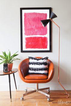 The Makerista: My Go-To Pillowcase DIY with Striped Pompom Trim