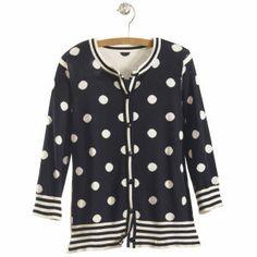 Polka Dot Cardigan - Women's Clothing, Unique Boutique Styles & Classic Wardrobe Essentials.