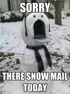 sorry snowman