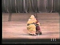 Igor Moiseyev ballet.  One of their most famous, cleverest dances.  It's short.  Watch it till the end.