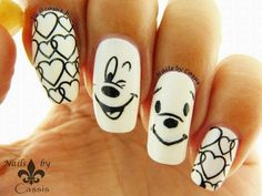Stop the Bullying Awareness Mani #nails #nailart #nailstamping #pueen #handpaint #bornprettystore
