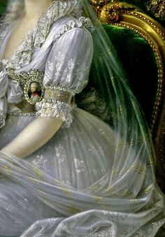 "sadnessdollart: "" Luisa Maria Amelia Teresa of Naples and Sicily, Princess of Naples and Sicily (1773-1802), Grand Duchess Consort of Tuscany, wife of Archduke Ferdinand III of Tuscany, Detail. by..."
