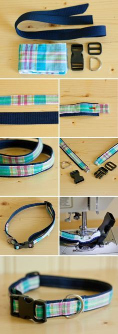This DIY dog collar is a perfect intermediate sewing project for anyone looking to dress up their pup!