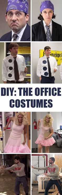 Make your own DIY Halloween costumes from The Office with this simple guide! office halloween memes The Office DIY Halloween Costumes memes women