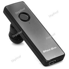 Bluedio S60 Wireless Bluetooth 3.0 In-ear Mono Headset Earphone for Cellphones Tablets EEP-359486