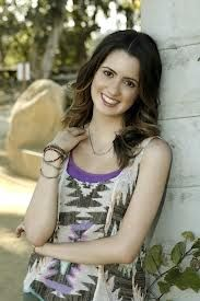 Laura Marano helping at a Friends for Change event