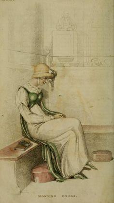Morning Dress Plate 23 Series 1 Vol 4 October 1810