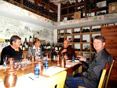 Wine tasting with Abrie Beeslaar,  Paul Sauer Cellar,  Kanonkop, Cape Town, South Africa.
