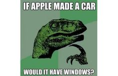 If Apple made a car...would it have Windows?