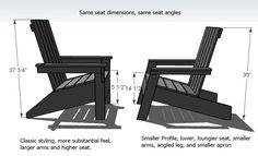Ana White | Modish Adirondack Chair - DIY Projects