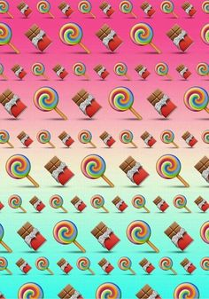 Candy Emoji Backgrounds