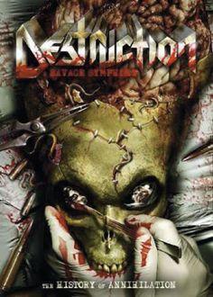 "Il DVD dei #Destruction intitolato ""A savage symphony - The history of Annihilation""."