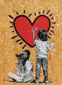 Peintures Murales, Enfants, Dessin