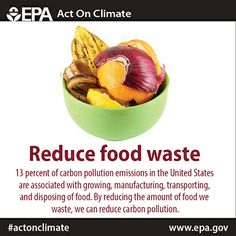 Make haste, reduce your food waste to #ActOnClimate!