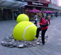 Biggest Tennis Ball Ever! Tennis in Shanghai | Flickr - Photo Sharing! http://www.centroreservas.com/