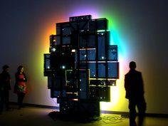 Light Show Neon Words, Installation Art, Modern Art, Street Art, Artsy, Contemporary Art, Art Installation, Contemporary Artwork