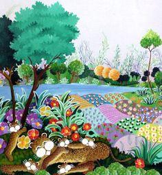 Familia de leopardos, Pilar Sala - arte901.com