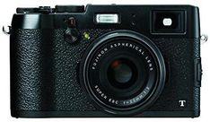 Fujifilm X100T Digital Camera (Black) - International Version (No Warranty)
