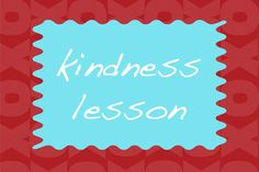 Kindness Lesson - February Heart Carfts