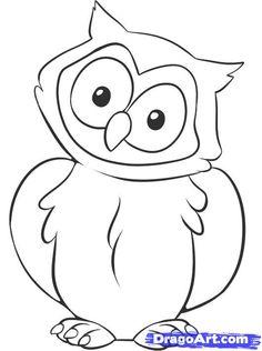 owl drawing ideas