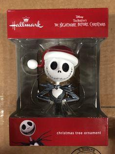 Hallmark 2016 Disney Tim Burton's The Nightmare Before Christmas Ornament Jack Skellington X.