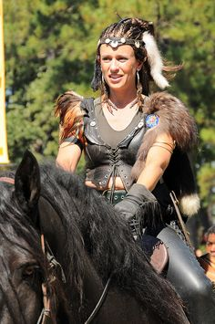 Warrior Lady pinned to Warrior Princess Attire