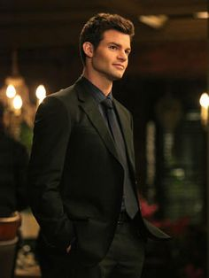 Elijah Mikaelson aka Daniel Gilles aka the Original with a fondness for suits