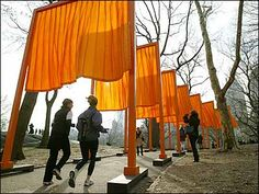 Christo & Jeanne-Claude - The Gates Project for Central Park