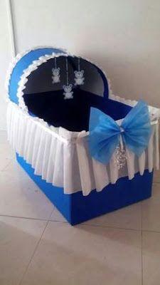 Anuncios Como parte de la decoración de un baby shower podemos elaborar unas hermosas cunitas, las cuales pueden servir para aco...