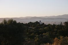 """I took my first stroll around Philopappos Hill in Athens with my friend Adrianna, while looking for a """"home"""" for my specialty herb and spice brand, Daphnis and Chloe. Acropolis, Athens, Chloe, Things To Do, Picnic, Tours, Mountains, Water, Travel"""