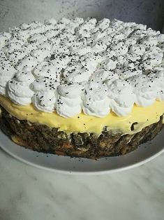Hungarian Cake, Hungarian Recipes, Sweet Recipes, Cake Recipes, Diabetic Recipes, Cooking Recipes, Cake Cookies, Food And Drink, Favorite Recipes