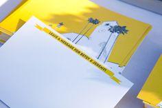 Oh So Beautiful Paper: Wedding Stationery Inspiration: Sunshine Yellow