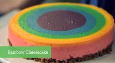 Rainbow Cheesecake - Foodista.com