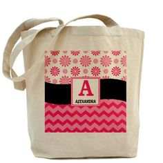 Flowers Tote Bag - Personalized gift for wife on CafePress.com