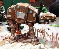 Weihnachten mit Star Wars AT AT Walker Lebkuchen :Gingerbread You are in the right place about Nerd Humor weird Here we offer you the most beautiful pictures about the Nerd Humor jokes you are looking Star Wars Film, Theme Star Wars, Star Trek, Funny Star Wars Pictures, Images Star Wars, Funny Pictures, Amazing Pictures, Disney Pictures, Geeks