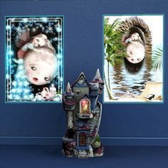 Moon fairy paintings by Trudie55 - Sims 3 Downloads CC Caboodle
