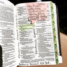 """The Loved Bible Project on Instagram: """"""""How do you battle these accusing voices?  Start by jotting down self-defeating thoughts... then renounce, repent, ask God."""" Sara Hagerty,…"""" Sermon Notes, Bible Notes, Scripture Study, Bible Art, Hannah Bible, Bible Journaling For Beginners, Art Journaling, Bible Mapping, Bible College"""