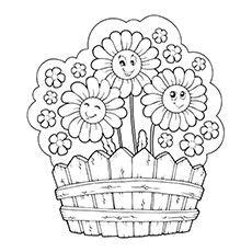 Coloriage fleur images pour l 39 coles et l 39 ducation dessins et photos ducatives ressources - Coloriage fleur tps ...