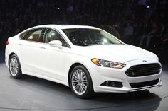 Ford Fusion Hybrid- Ford rocked the 2012 Detroit Auto Show with this beauty. US Carmakers are finally making some great looking sedans!