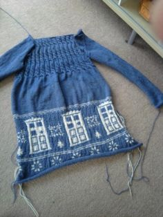 TARDIS dress by ~Snazberry on deviantART - if someone makes me this I will love them forever.