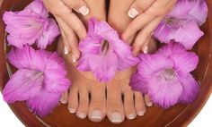 organic salon ships all-natural, three-step lip-repair system to doorstep or offers nail shaping, hot towels, exfoliation, and polish Shellac Manicure, Gel Acrylic Nails, Mani Pedi Spa, Pedicure, Sore Lips, Foot Exfoliation, Sculpted Nails, Organic Butter, Foot Reflexology