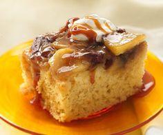 Pastel de Manzana con Caramelo