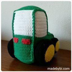 Hæklet traktor – byBi
