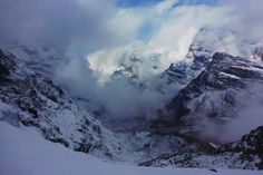 #Annapurna_Base_Camp_Trek : A snow covered ABC bottom to top of the Annapurna Himalaya....Enjoy it by planning your holidays in Nepal with us. #ABC_trek #trekking_hiking #clearskytreks #walking_tour #Nepal_travel #tours_climbing. @Clear_Sky_Treks....