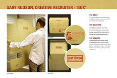 moving box recruitment marketing