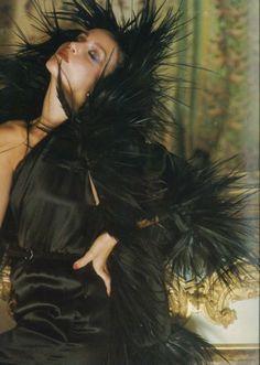 """Versailles"": Jerry Hall by Norman Parkinson, UK Vogue, Sept 1975 - dress"