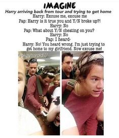 I want Harry to so this when we are dating. (He already did. But it was a dream)