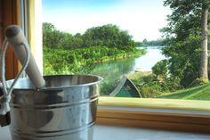 Genießen Sie die Aussicht aus unserer Panorama Sauna! Sauna, Wellness Fitness, Barware, Landscape, Tumbler